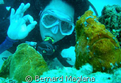 My Brother And His New Found Diving Buddies by Bernard Maglana 